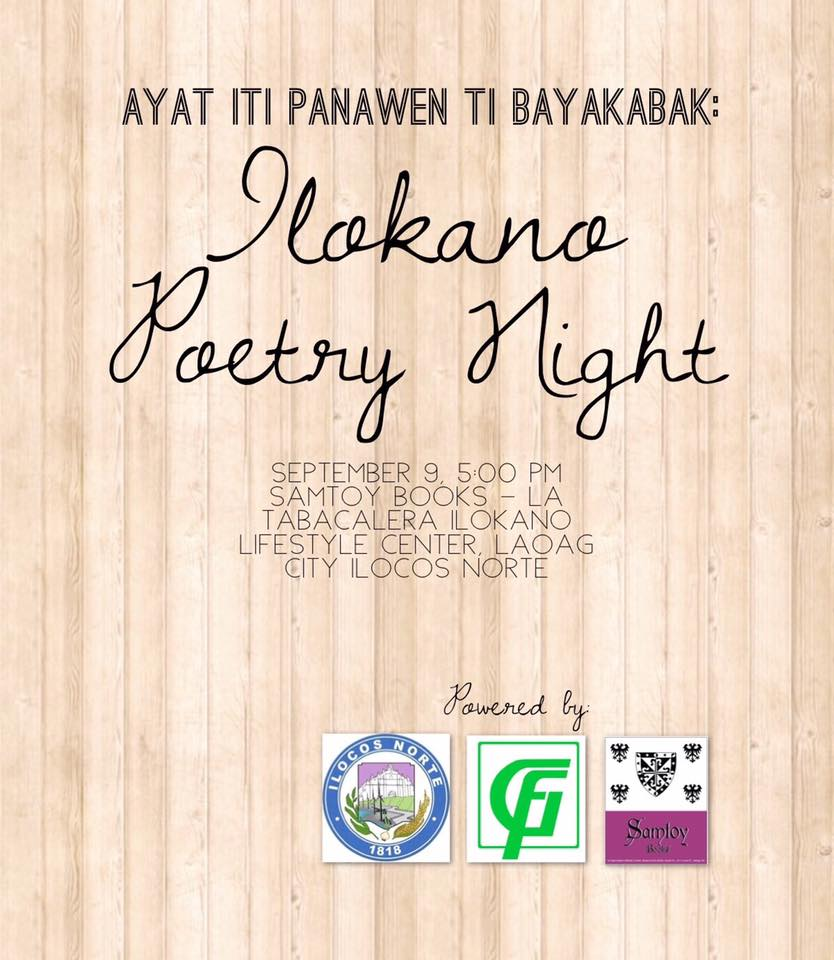 Ayat iti Panawen ti Bayakabak – A Night of Ilokano Poetry